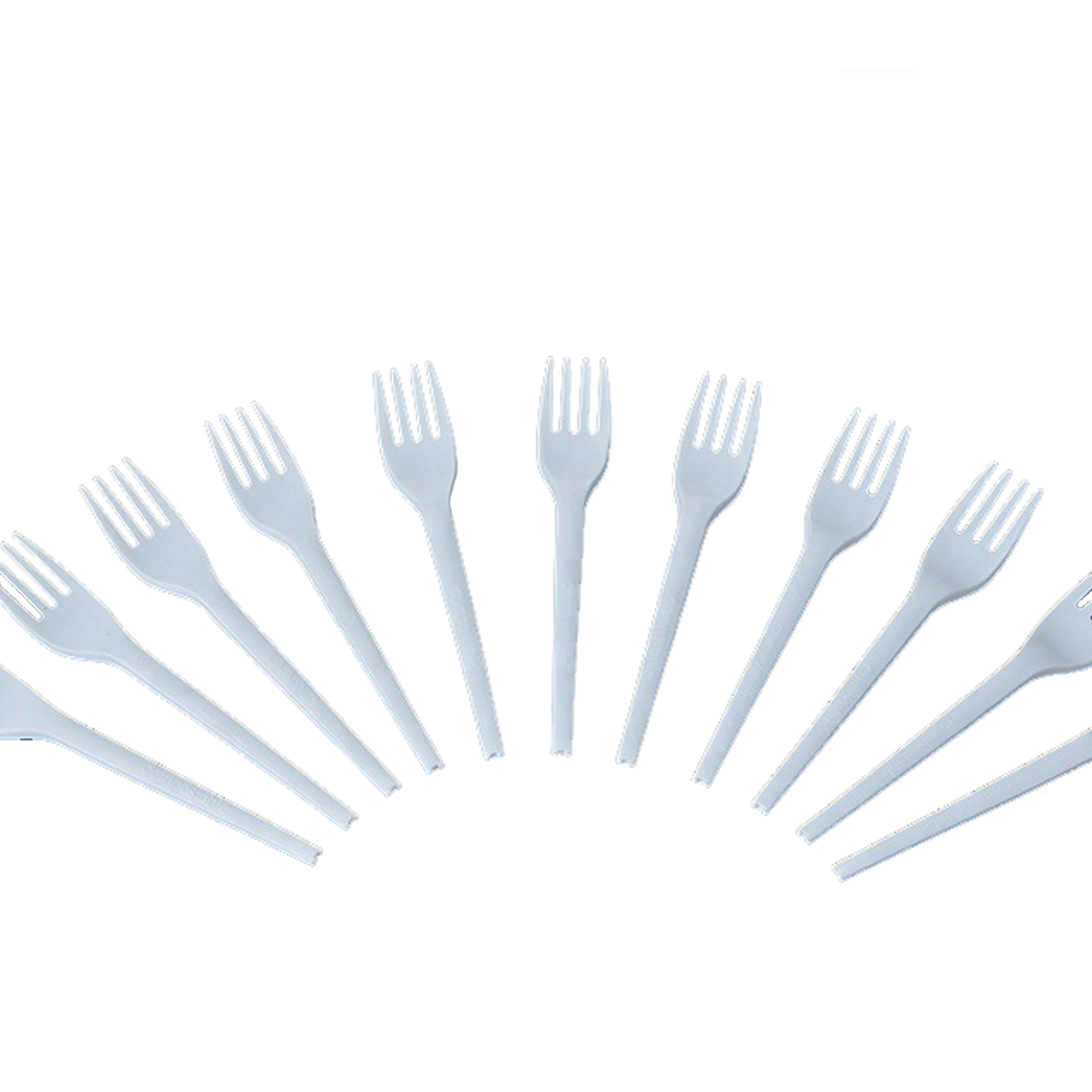 ECO Friendly Compostable PLA Cutlery100% Biodegradable Fork