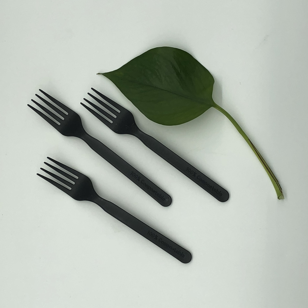 Disposable Fully Compostable Biodegradable CPLA Knife fork spoon