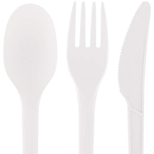 Compostable Eco Friendly Cutlery Set CPLA Disposable BiodegradableCornstarch Cutlery