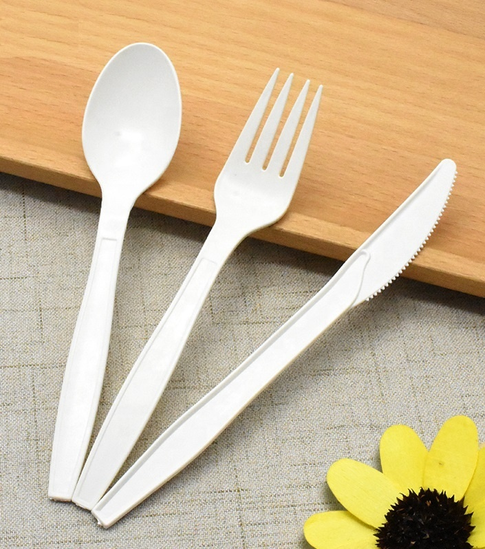 PLA CutleryCompostable Spoons 100% Biodegradable ECO Friendly