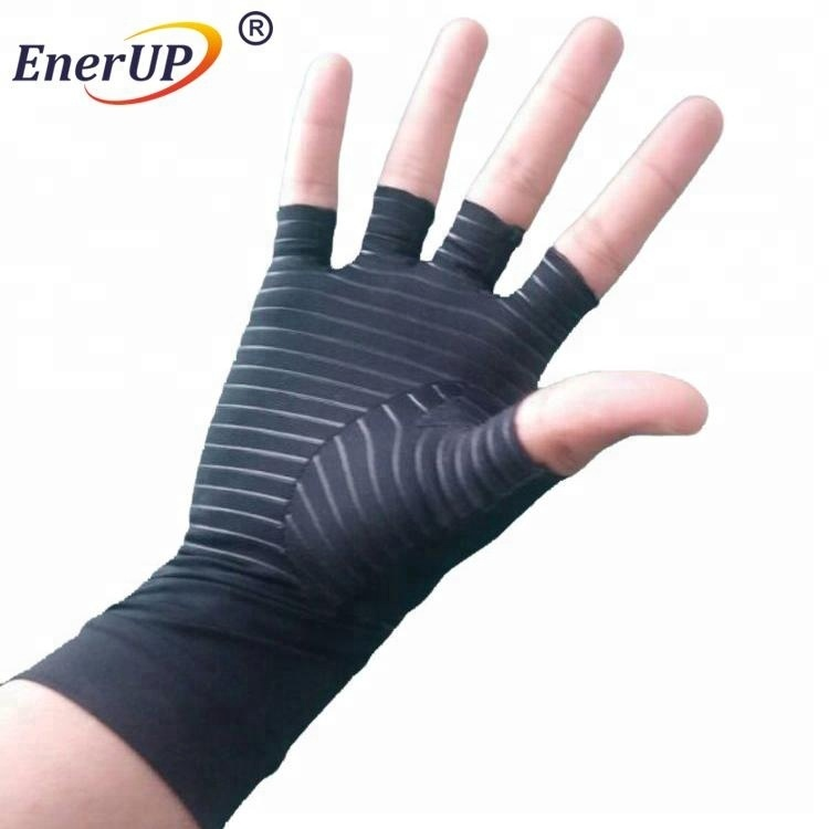 high quality Copper compression arthritis gloves for hands