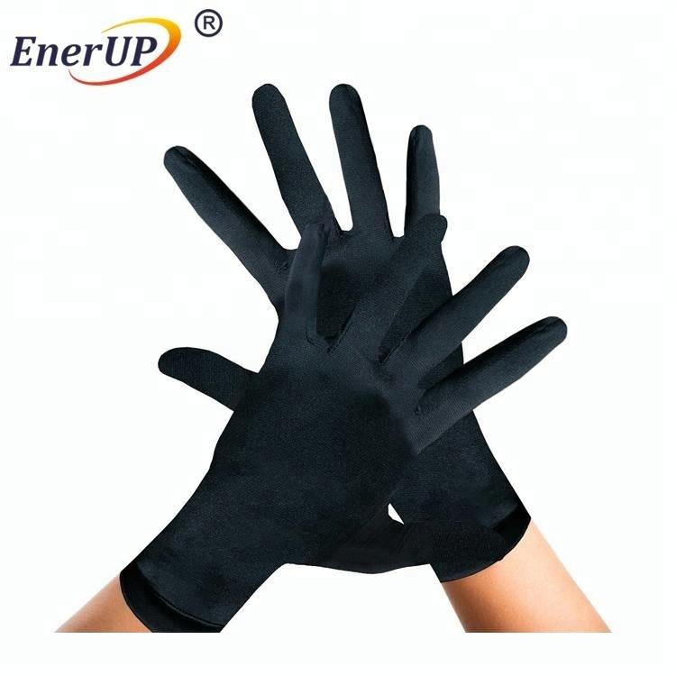 copper compression arthritis fingerless gloves for women