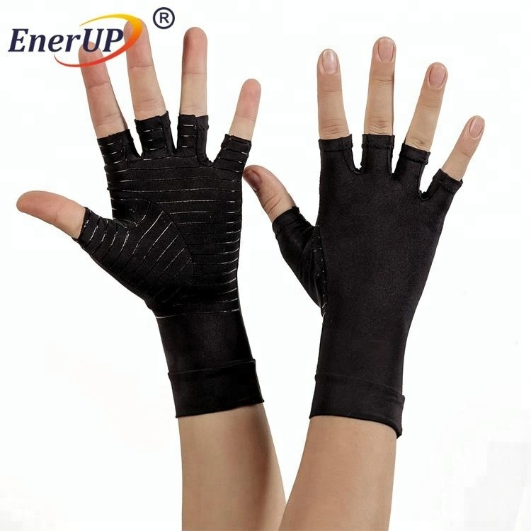 copper arthritis cycling full finger compression gloves
