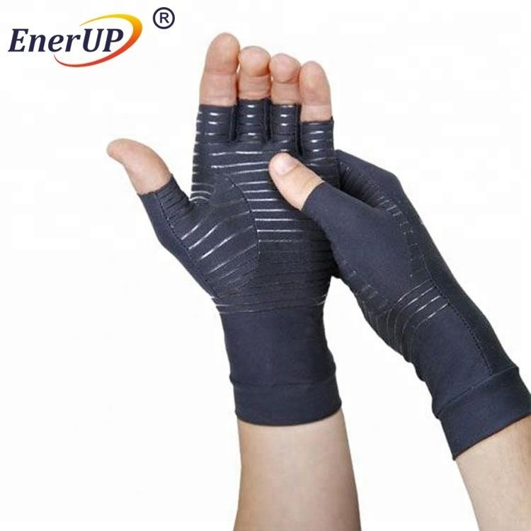 premium copper hand care compression gloves for athletes support