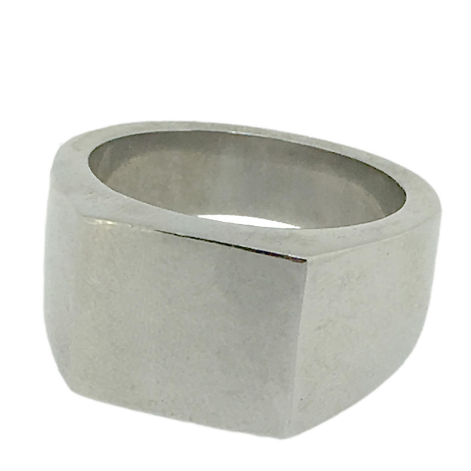 High quality custom design blank signet ring