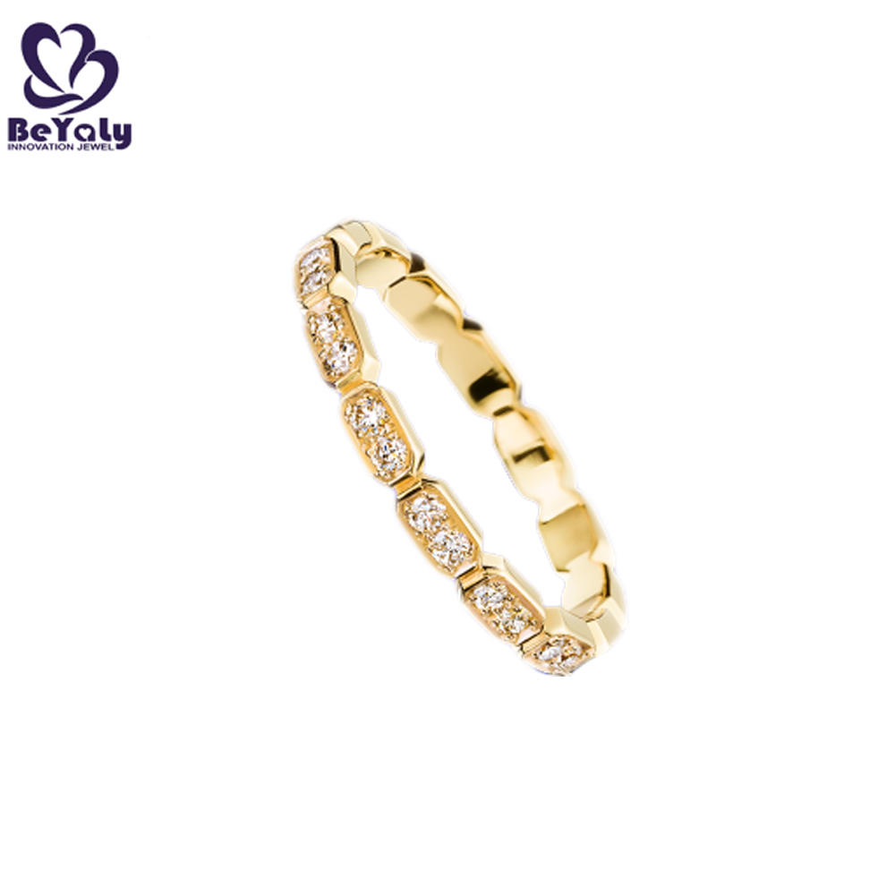 Gold plated high end diamond jewellery manufacturer in china