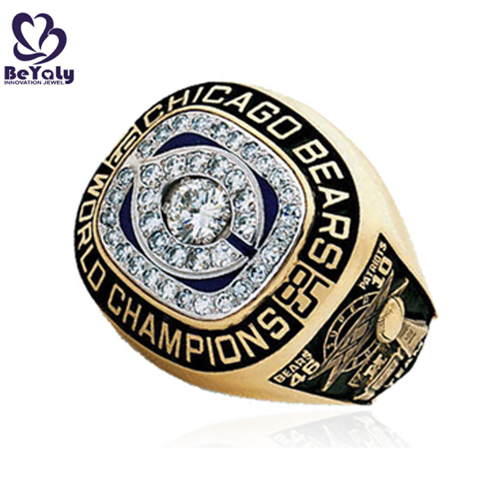 Brilliant youth team championship replica custom fantasy football rings
