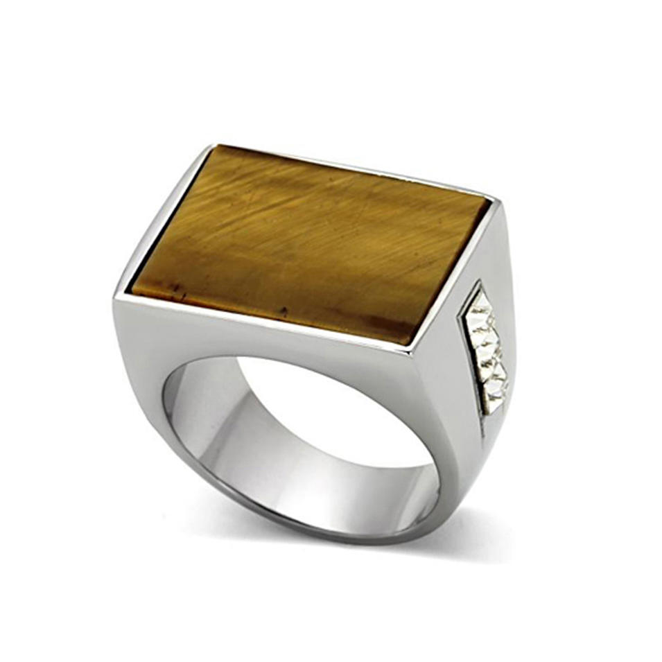 Square fashion men cool affordable wedding rings