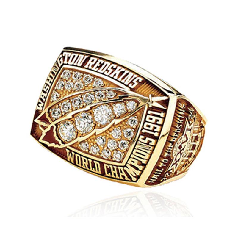 AAA CZ Pave Set 1998 Denver Broncos Championship Ring Broncos