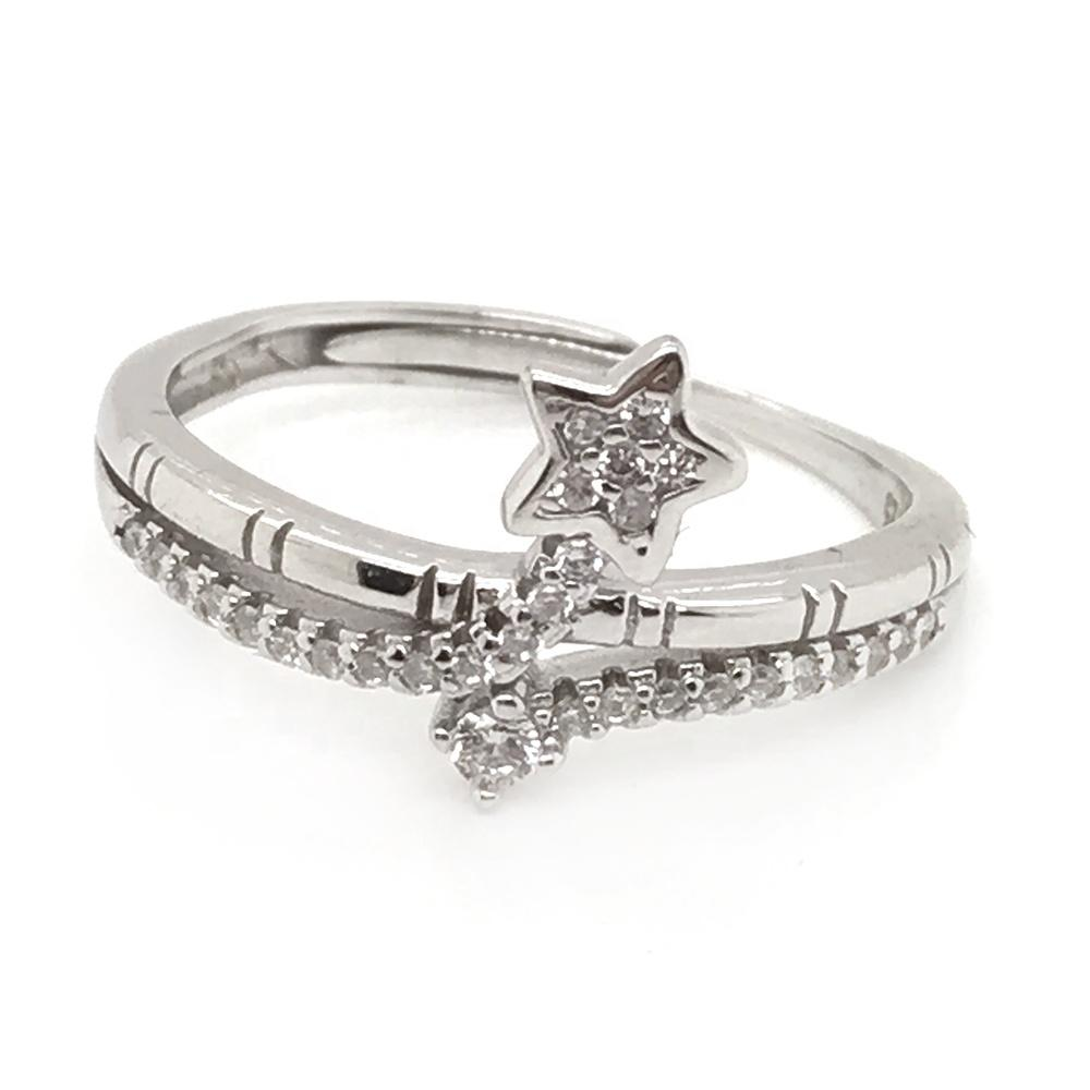Neat star design turkish silver jewelry istanbul grand bazaar rings