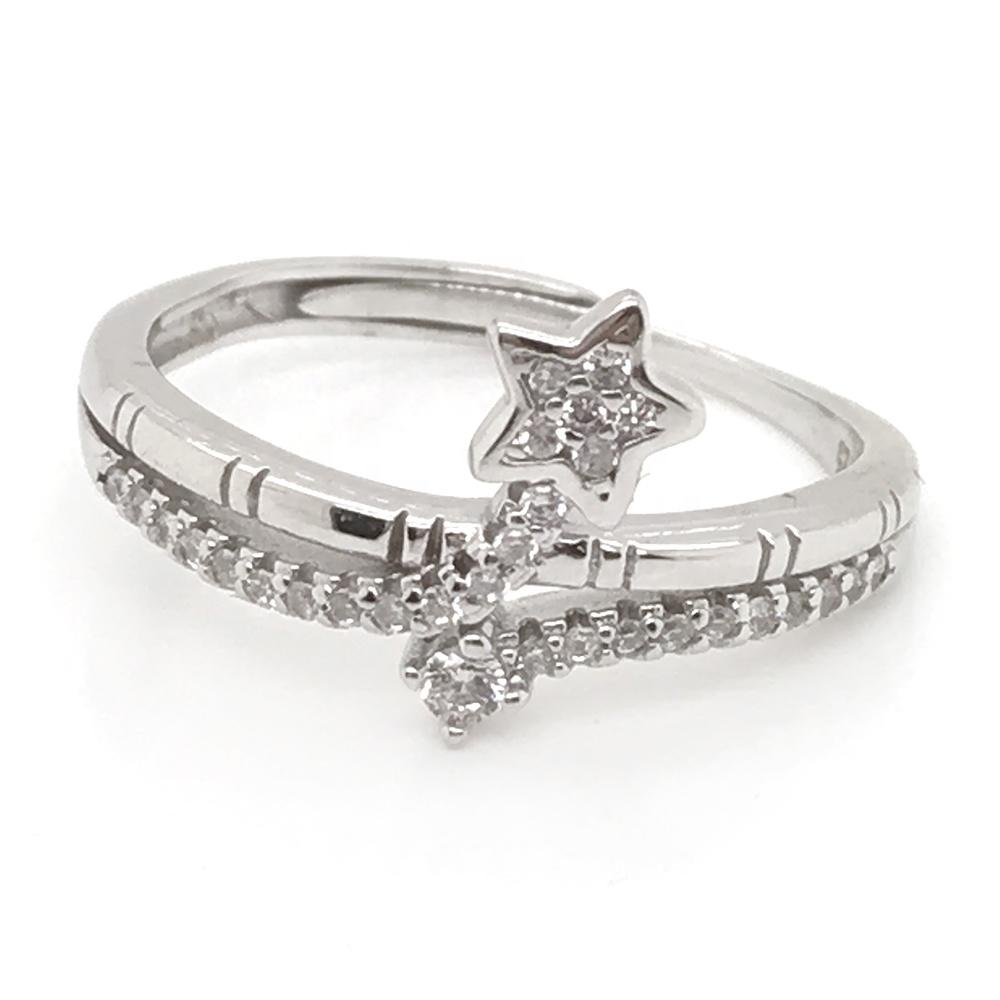 Neat star design turkish silver jewelry istanbul grand bazaar rings