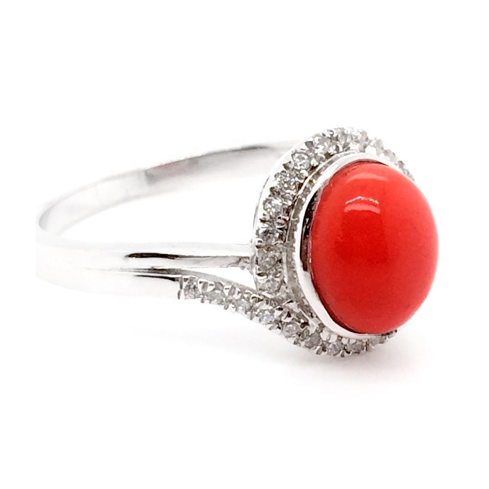 Red Stone Pave Setting Cz 925 Silver Fine Jewellery