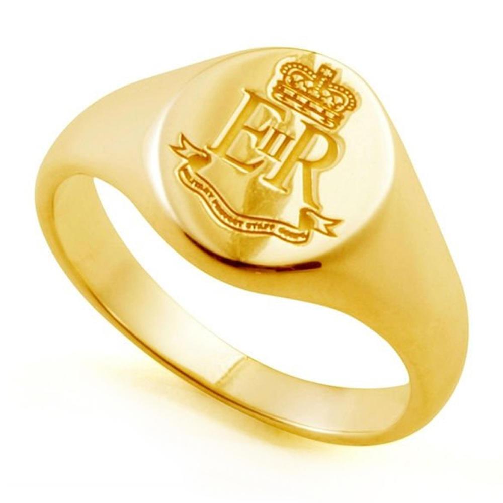 High Quality Gold Plating Men's Cheap Custom Signet Ring