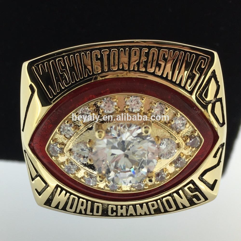 Memory souvenir 1982 Washington Redskins championship ring