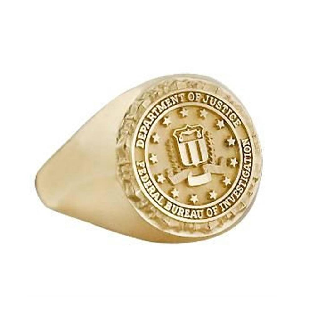 New Model Letter Pattern Custom Design Military Signet Ring