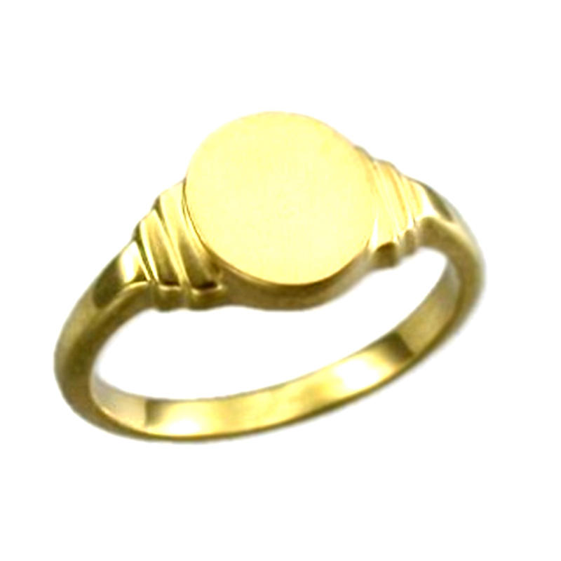 Cheap Custom Fashion Jewellery Gold Plated Signet Ring