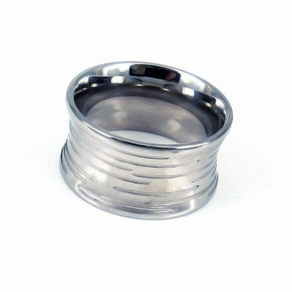 Fashion Best Price Popular Men Blank Stainless Steel Ring