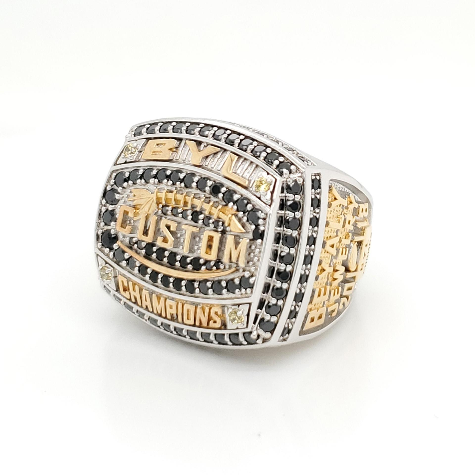 Wholesale replica cz fantasy football championship rings