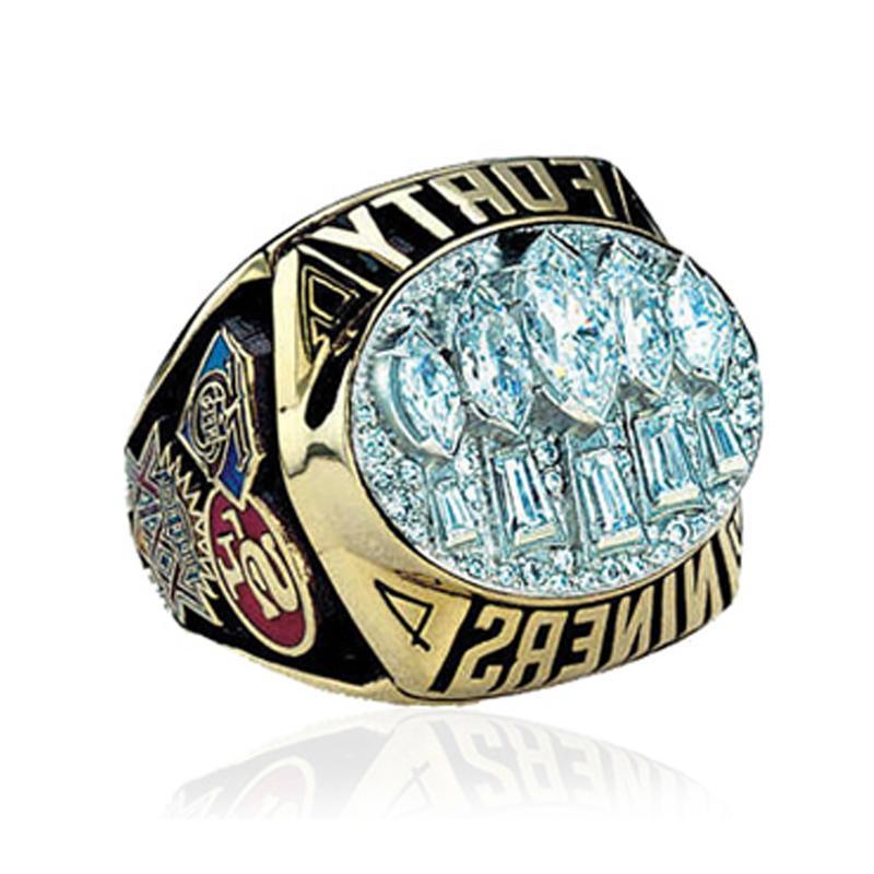 1994 San Francisco 49ers gemstone wholesale pirate rings