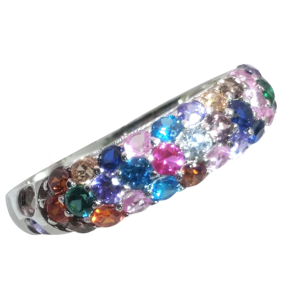 Colored Cubic Zircon 2020 New Design Silver Payal Jewelry For Girl