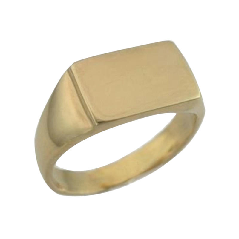Fashion jewellery wholesale men's stainless steel signet rings