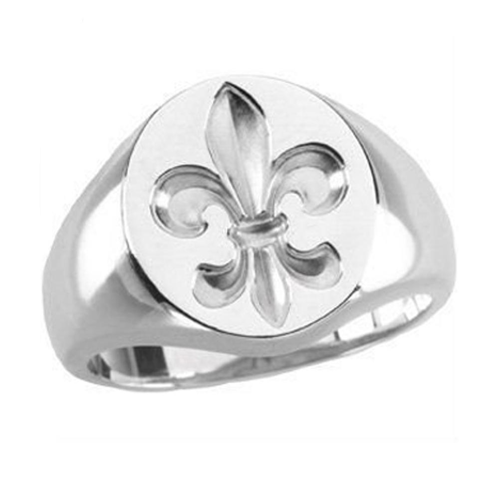 Fancy gold plated stainless steel cheap custom signet ring