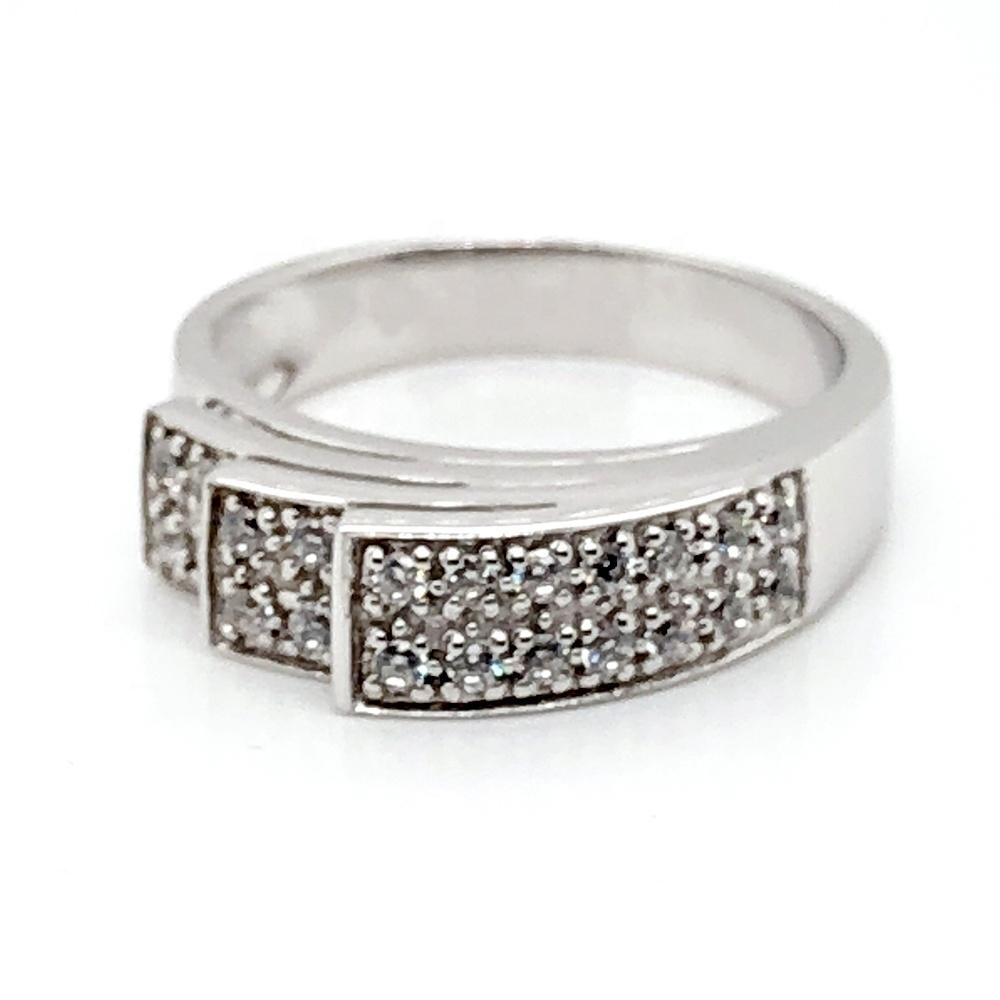 Shiny 925 silver custom cz imitation jewellery findings