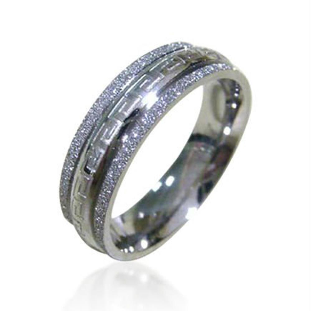 2019 Cheap Rings Simple Jewelry Boys Fashion Rings Sand Blasting