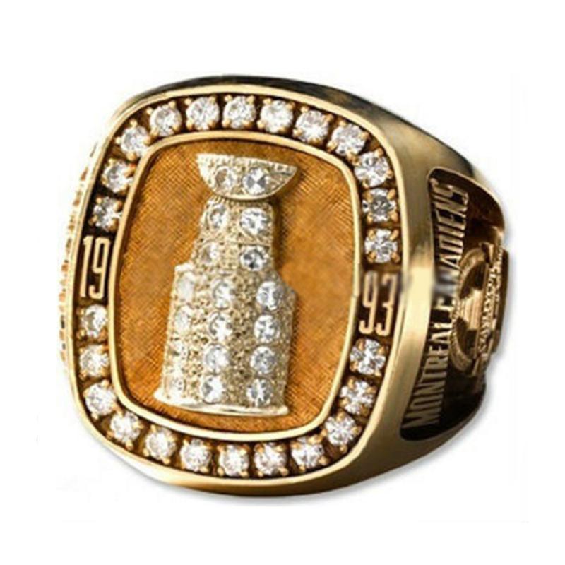 1993 Montreal Canadiens Custom Design Champions Ring