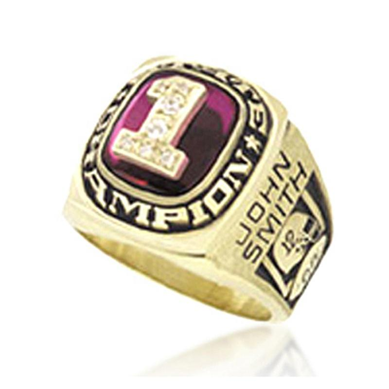 Brass or Stainless Steel College Student Graduation Class Ring Jewelry