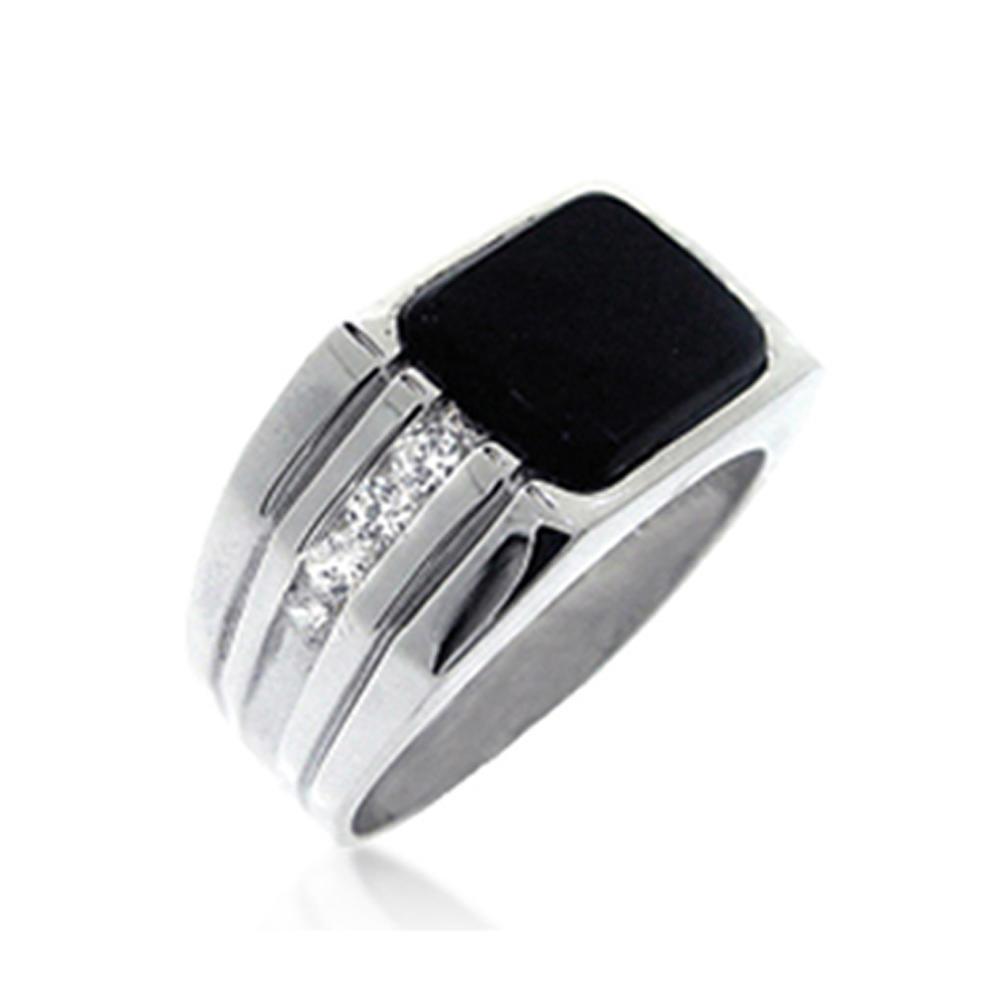 Simple silver daily wear saudi arabia silver men rings