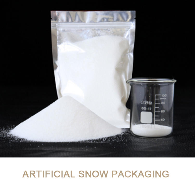 Christmas ornament simple style instant snow polymer
