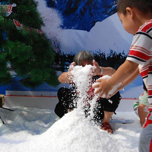 Factory Manufacture Magic Artificial Snow, Fluffy White Instant Snow