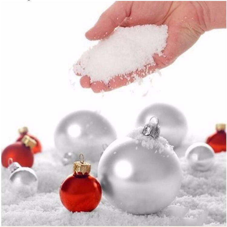 Hot Sale Non-Toxi Artificial Instant Expanding Snow for Decoration