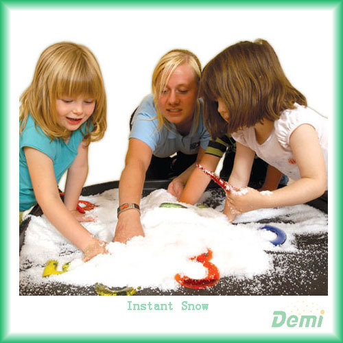 Safety Magic Instant Expanding Artificial Fluffy Snow For Decoration And Kids
