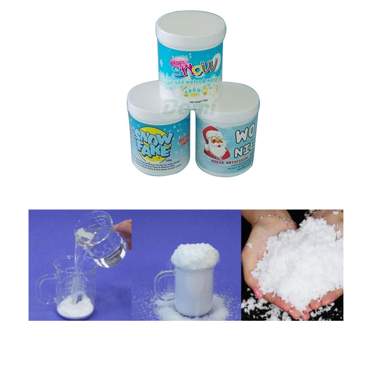 Professional Manufacture Cheap Christmas Product Magic Instant Snow