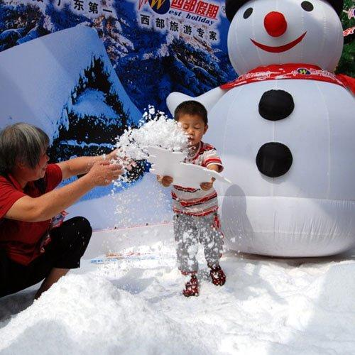 Wholesale Christmas Instant Snow Polymer, Movie Props Magic Snow Powder