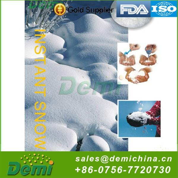 Fashion Customized Funny Instant Snow Powder Artificial Christmas Tree Snowing