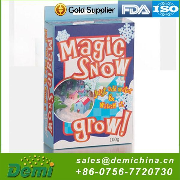 Christmas decoration artificial snow instant snow with factory price
