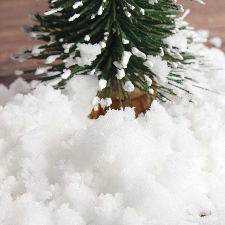 Chinese Christmas Ornaments Artificial Snow Instant Snow Powder