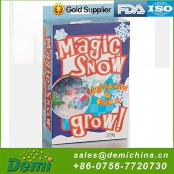 Wholesale Christmas Outdoor Decorations Artificial Snow Instant, Magic Snow