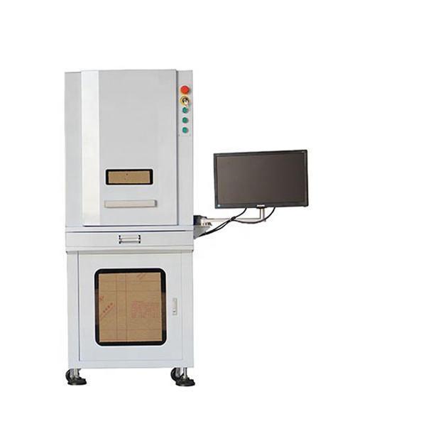 100W 3D Fiber Lazer Mark Cut Engraving Machine BJJCZ Control And CZEAD Software