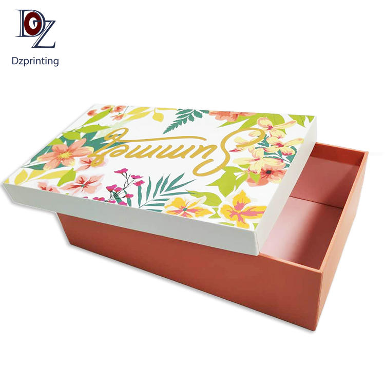 Guangzhou Manufacturer Custom Printing Wholesale Paper Gift Packing Boxes For Shoes