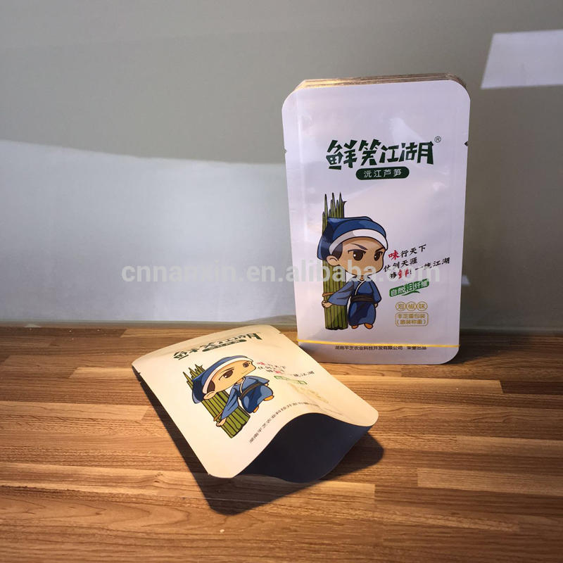 Vacuum foil sachet packing for cooking retort pouch