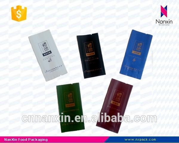 tea packaging sachet foil lined packaging bag