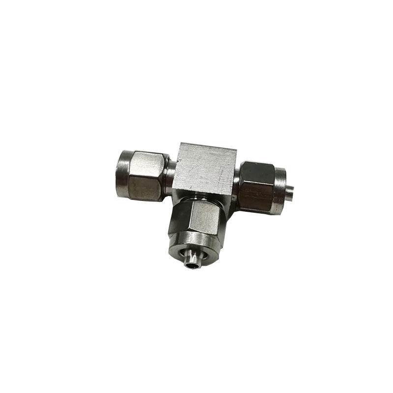 Pneumatic quick joint BKN-PE6 Tee joint stainless steel BKN-PE8 Air piping Pneumatic fittings