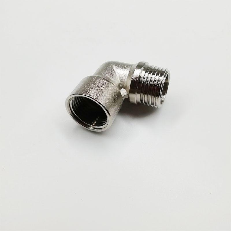 TTY-PLF1-2 Brass femaleelbow compressed air mufflercompressionfitting