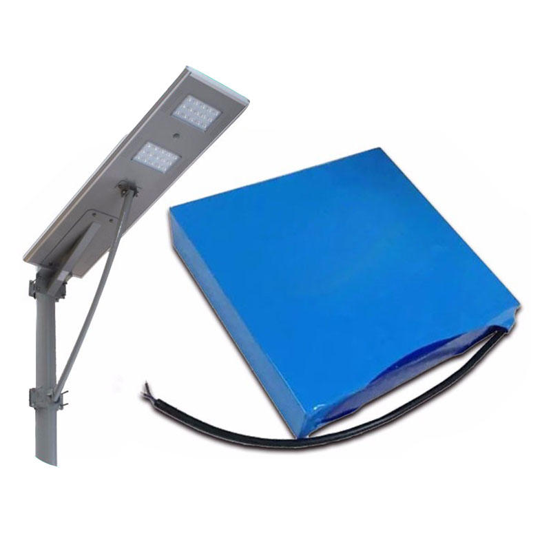 All in one Integrated Solar Street Light 12V 20Ah Li-ion Li-polymer Ternary Capacity Type Lithium Battery