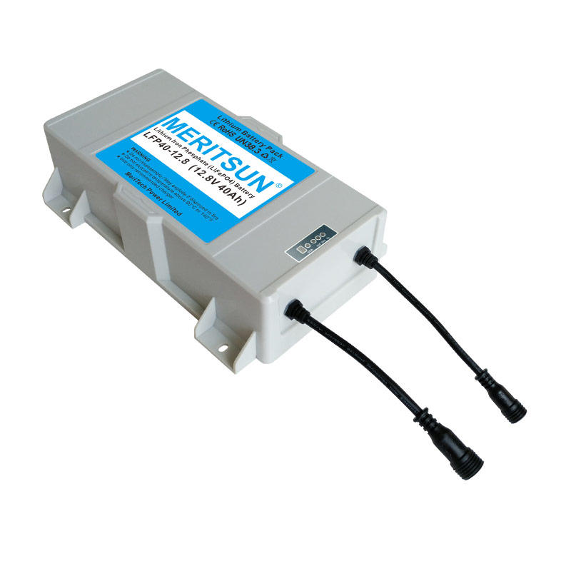 12V 20Ah~50Ah Control Integrated Waterproof Rechargeable Lithium Battery box Pack use for 30W 40W 60W Solar Led Street Light