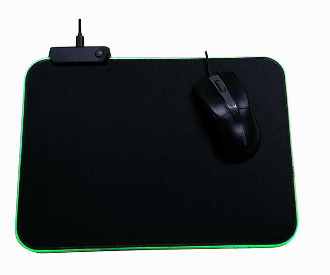 RGB Oversized Glowing 9 Mode LED Soft Gaming Mouse Pad Large, Extended Mousepad